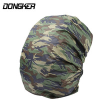 Nylon Waterproof Backpack Bag Dust Rain Cover Camo For Camping Hiking Cycling Luggage Pouch Cover Case Travel Tool 6 Colors Camo