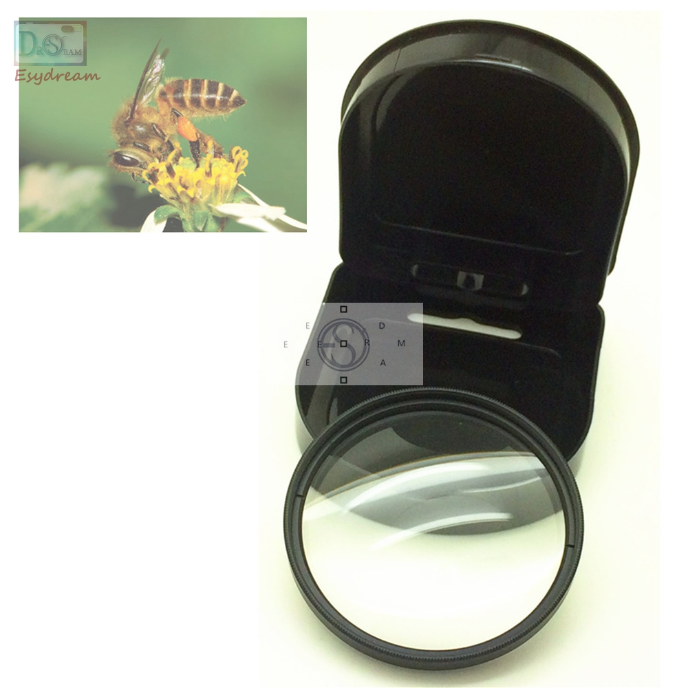 37 46 49 52 55 58 62 67 72 77 mm Close up +8 Macro Lens Filter For Camera Canon Nikon Pentax Lenses Close-up x8