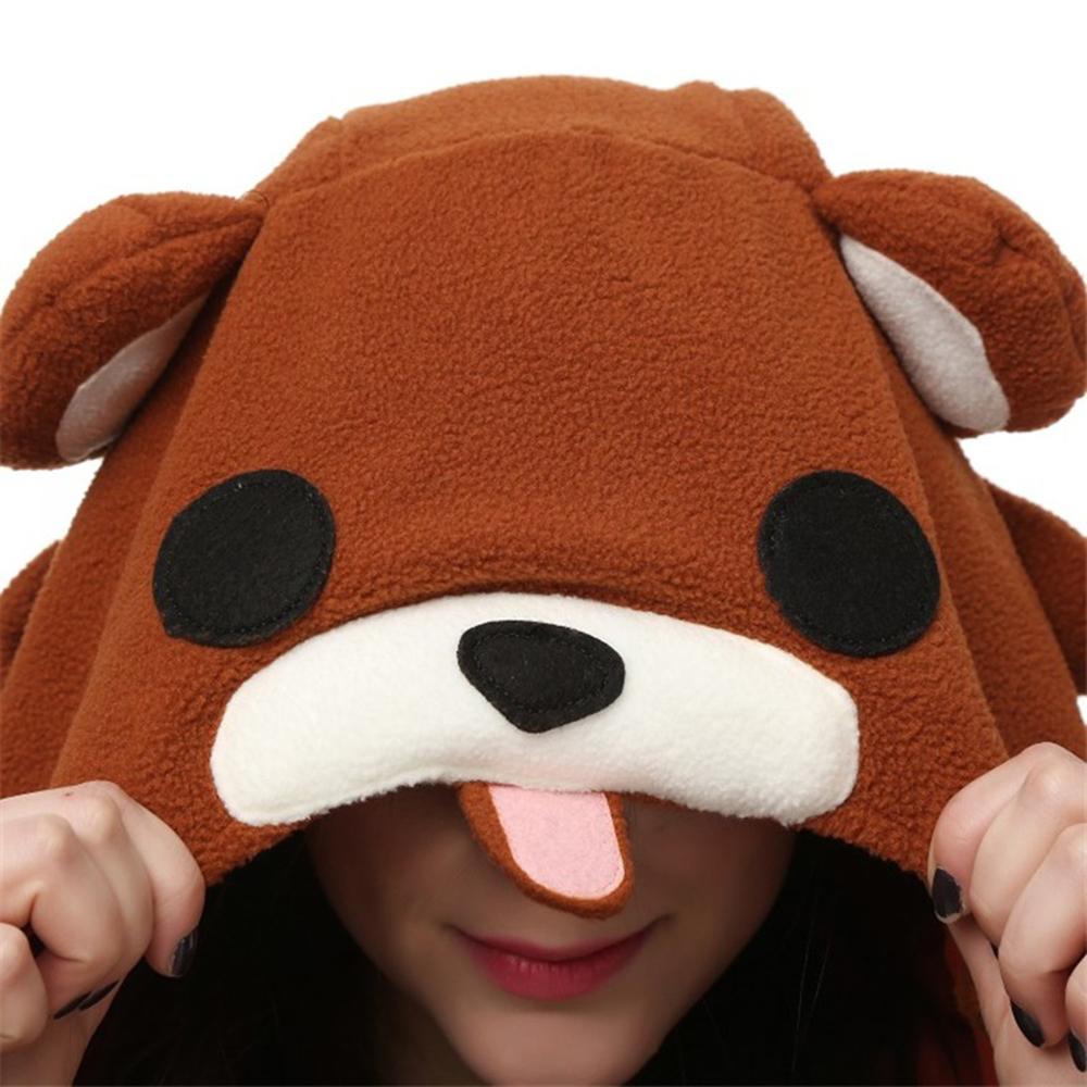 brown bear cosplay pajamas4