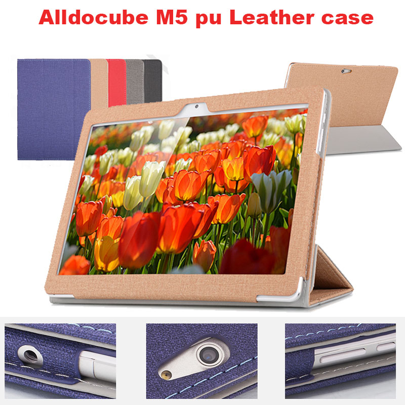 Fashion PU leather Protective Folding Folio Case for EZpad M5 for 10.1inch Tablet PC Cover Case pu leather folding folio case for chuwi hi13 host and keyboard for 13 5 tablet pc cover case free screen protector gifts