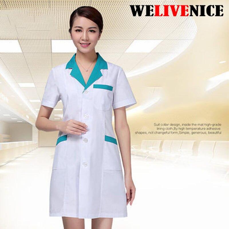 Hot!! Summer Women Men Hospital Medical Scrub Clothes Set Dental Clinic And Beauty Nurse Uniform Fashionable Design Slim Fit