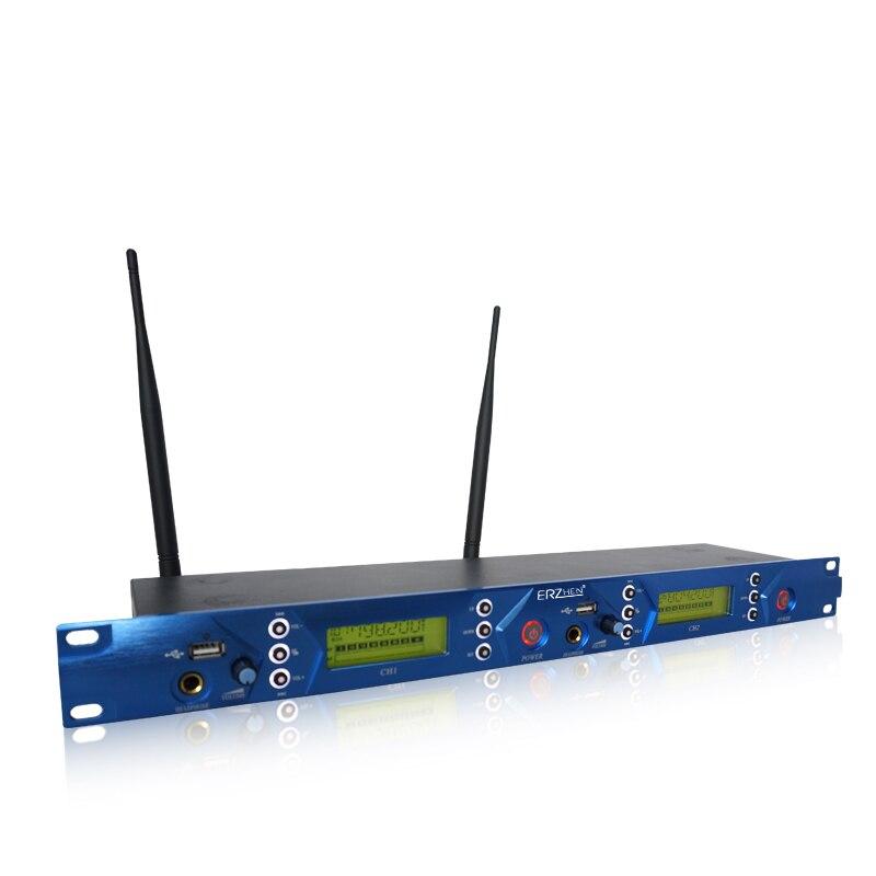Paquete de 5 receptores Sistema de monitor auditivo inalámbrico, - Audio y video portátil - foto 3