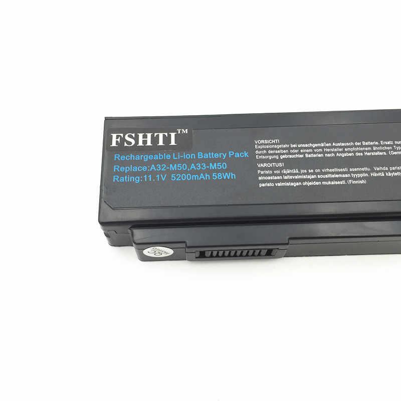 البطارية ل ASUS N53JG N5M60JV M60V M60VP M60W N43 N43 N43J N43JF N43JM N53 N53D N53DA N53J N53JF3JL N53JN N53JQ bateria
