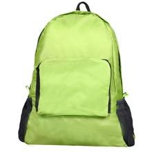 Ulrica Nova marca 2016 Top de Nylon Dobrável Bolsa de Ombro Mochila Feminina para as mulheres sacos de viagem Azul Verde Cinza Rosa Quente(China (Mainland))