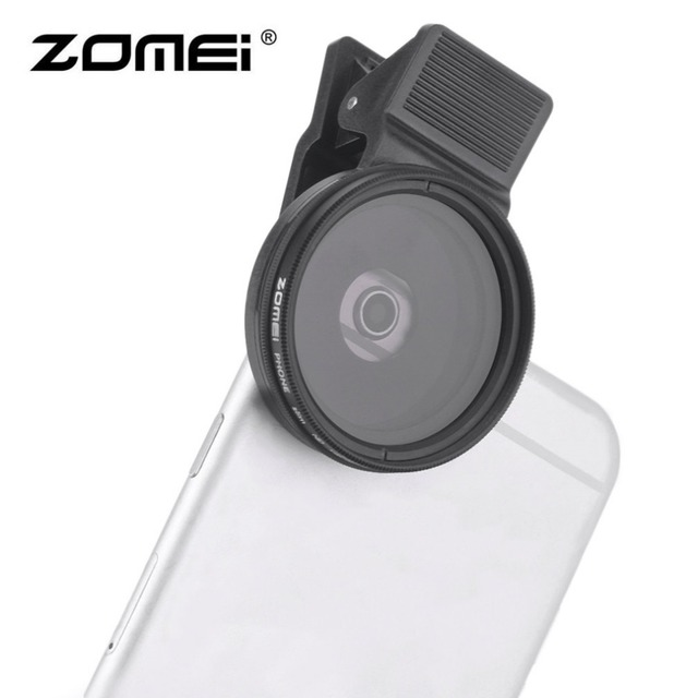 3 In 1 ZOMEI Universal 37MM CPL+Close Up Filter+ND2-400 ND Fader Filter Kit Professional M1 Phone Lens Filter For iPhone samsung
