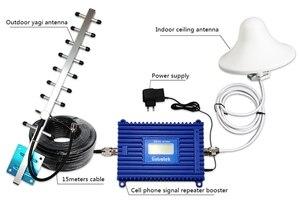 Image 5 - GSM 3G 2100 wzmacniacz sygnału wzmacniacz wyświetlacz LCD WCDMA 2100 mhz telefon komórkowy Repeater UMTS 70dB komórkowej wzmacniacz + antena S29