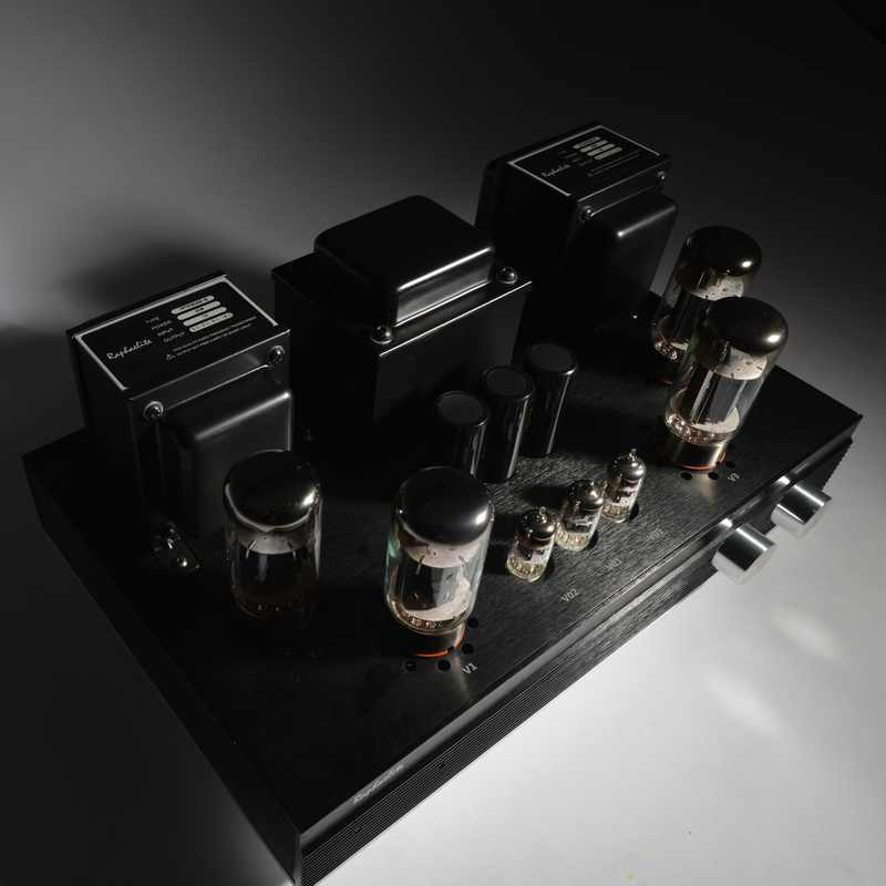 Raphaelite EP65 6550 Push-Pull Tube Amp HIFI EXQUIS Integrated KT88 Lamp  Amplifier with Remote