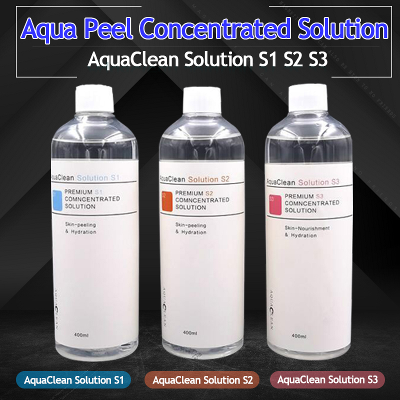 Aqua Peel Concentrated Solution 400ml Per Bottle Aqua Facial Serum Hydra Facial Serum For Normal Skin Aqua Clean Solution