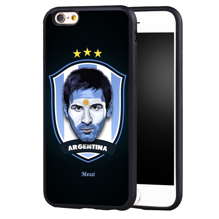 Sport Football Soccer Star Messi Soft Silicone case cover for iphone X 8 7 plus 6 6splus 5 5s SE