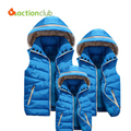 2015 New Family Matching Family Clothing Winter Jacket Cotton Coat for mother and daughter Best Tshirt Free Shipping KM007