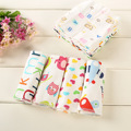 6 Pcs/lot Newborn Baby Face Towel High Quality 21*21cm Square Toallas Para Bebes Cotton Character Toalha Infantil Hand Towel C23