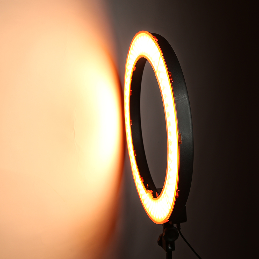 HTB1CF6nfJ.LL1JjSZFEq6AVmXXae 55W 18inch Camera Phone LED Ring Light Photography studio Dimmable Ring Lamp With Stand Tripods For TikTok Youtube Makeup Video
