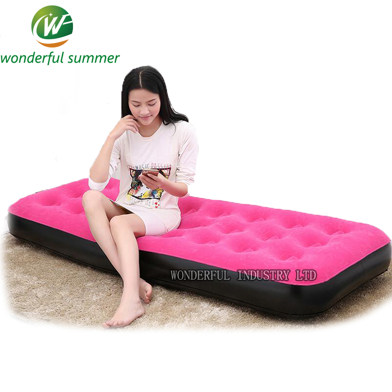 1917322cm Brand Inflatable Air Mattress Camping Single  : 191 73 22cm Brand Inflatable Air Mattress Camping Single Sleeping Bag Lazy Sofa New Winter Summer from www.aliexpress.com size 800 x 800 jpeg 232kB