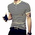 Fashion Men's T shirt Short Sleeve T Shirts Summer Slim Fit T Shirt Casual Men Tops Leisure Tees Men's Clothes Plus Size 5XL