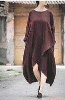 fashion Vintage women long dress ethnic Style Irregular Women long summer dress female cloths fashion holesale sp120