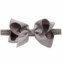 100pcs/lot Latest design handmade satin adjustable elastic twist bows headband for girls