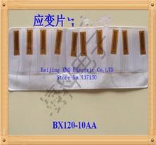100 pçs/lote, BX120 10AA 120 10AA resistência strain gauge No. 135, BF120 10AA, Frete Grátis