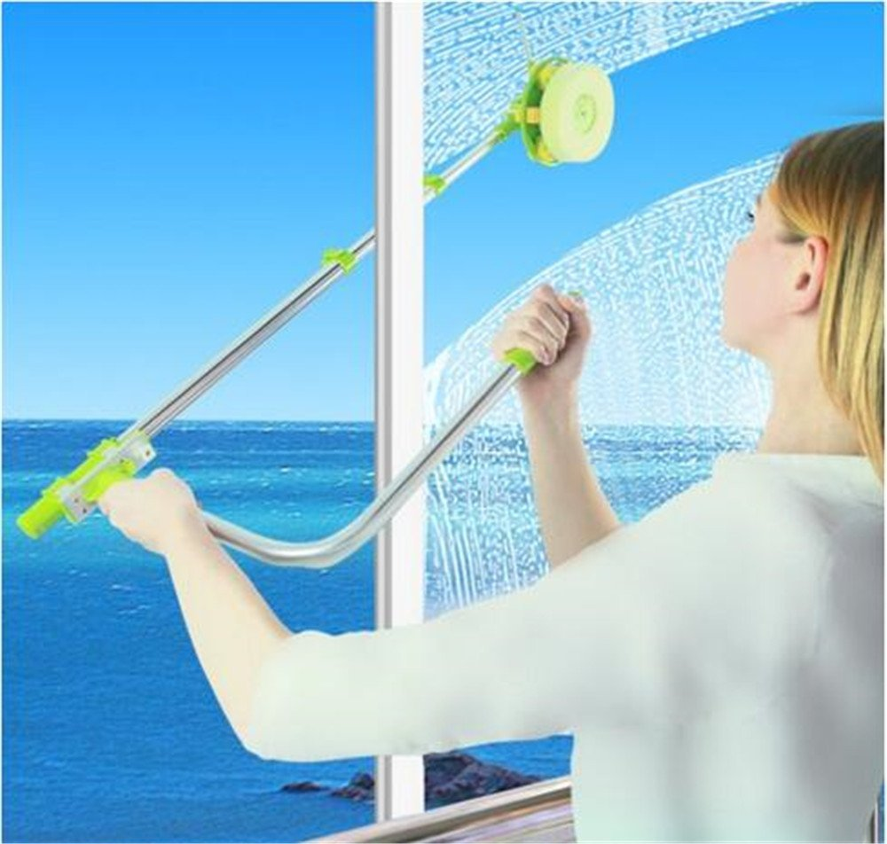 פנטסטי מנקה חלון מגנטי דו צדדי ניקוי ניקוי סט Brushe & חלון ניקוי חומרי TZ-79