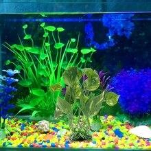 Aquarium Artificial Plant Green Sea Grass Decoration Ornament Fish Tank Decors Aquario