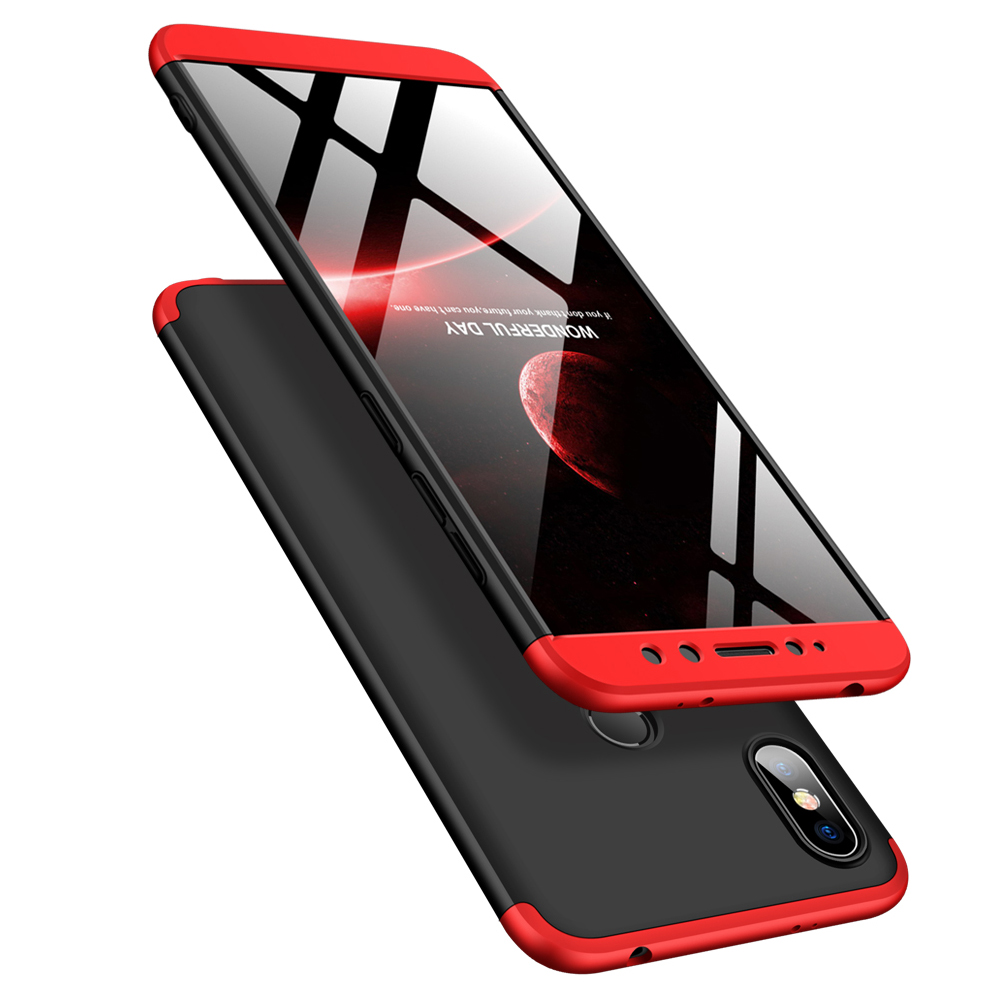 For Xiaomi Redmi S2 Case 360 Degree Full Body Cover Case For Xiaomi Redmi S2 Shockproof Case With Tempered Glass for red mi s2 in Fitted Cases from Cellphones Telecommunications