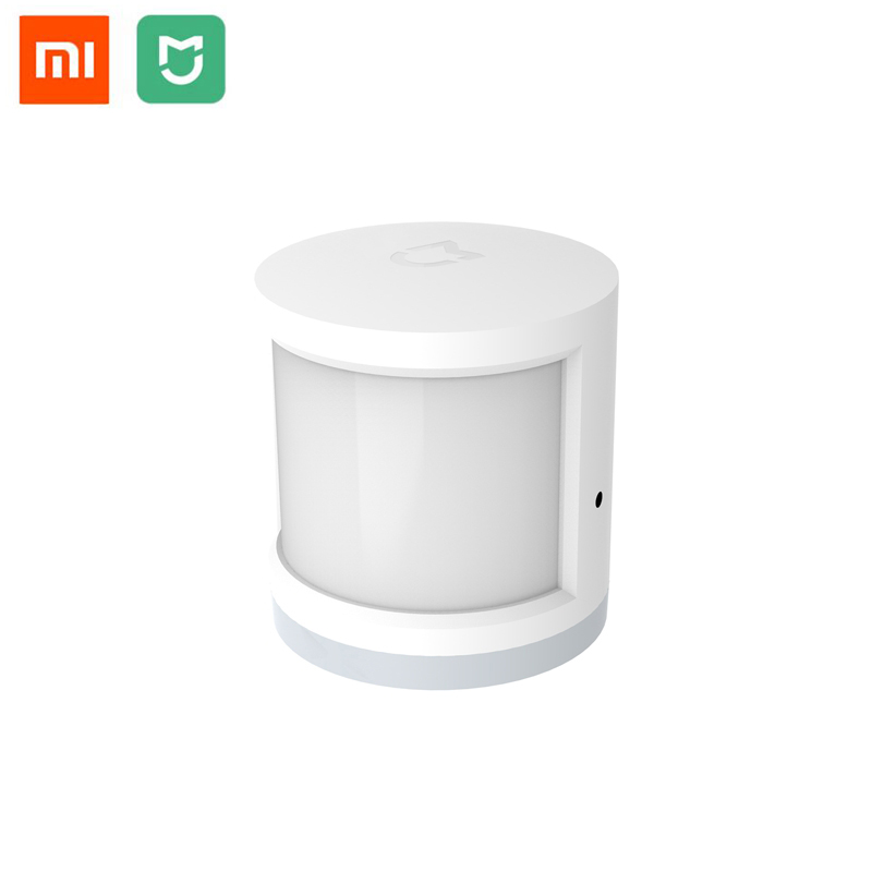 цена Original Xiaomi Mijia Infrared Smart Human Body Sensor Home Security Body Motion Sensors Compatible With Xiaomi Smart Home Kits