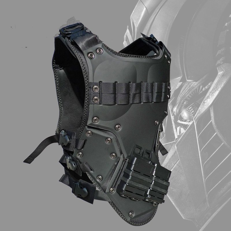 Protective black vest +7.62 black wallet one pair( protective black vest 7 62 black wallet one pair