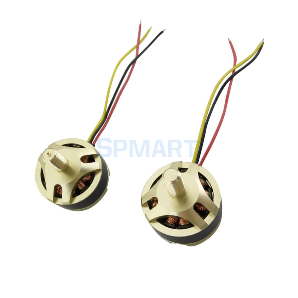 2Pcs Brushless Motor CW CCW for Hubsan X4 H501S H501C Four-Axis Aircraft RC Drone Quadcopter Spare Parts Accessories цена