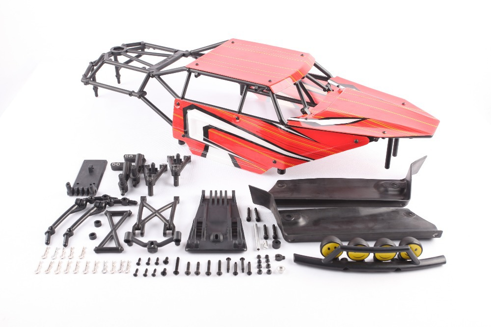 Kingmnotor Storm roll cage with body for 1/5 HPI Baja 5b ss Rovan Kingmotor car storm 47227 b