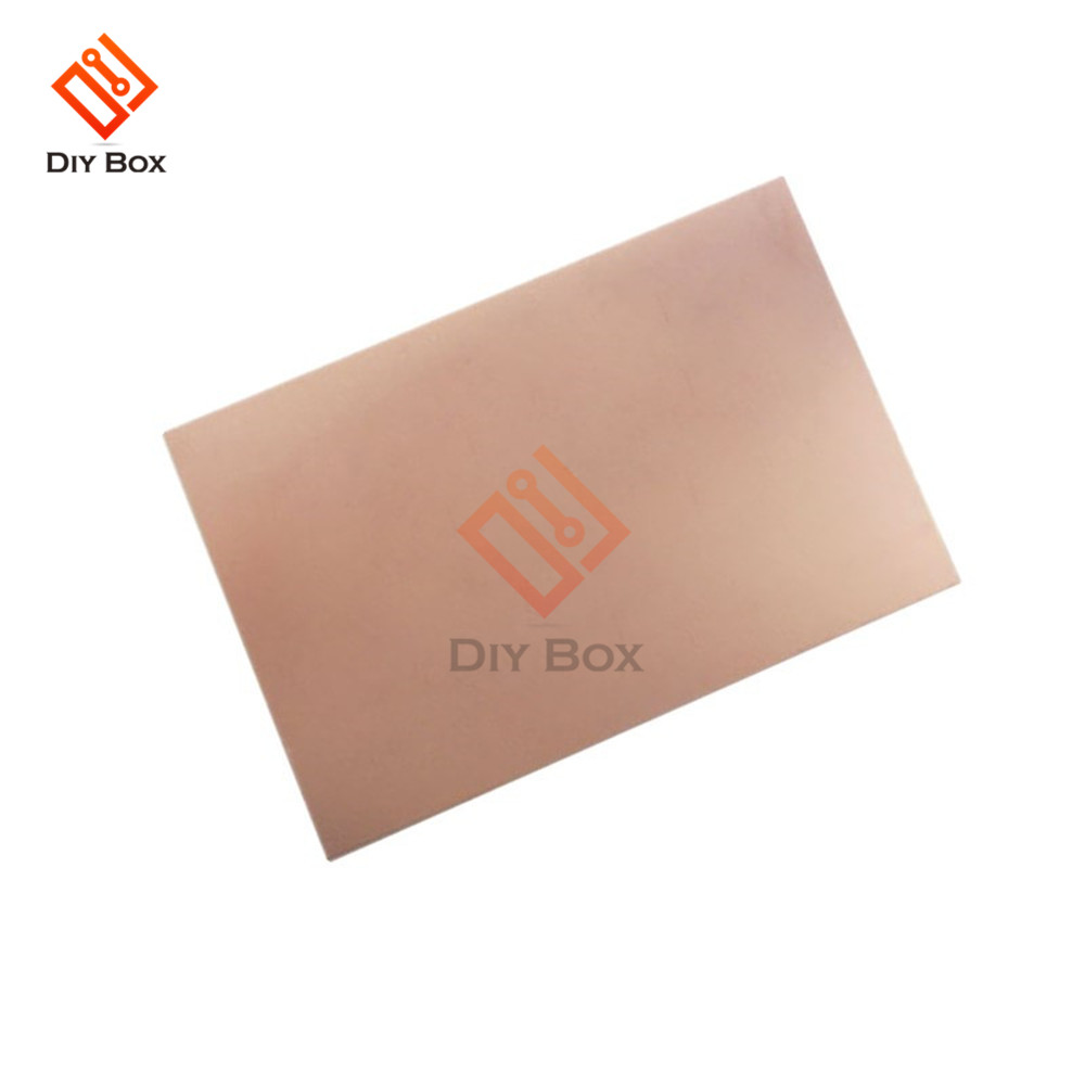 70x100x1.5mm FR4 Copper Clad Laminate Sheet Circuit Double Side PCB 10X7cm
