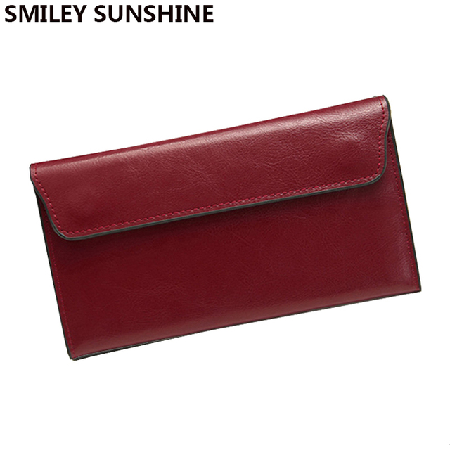 Envelope Clutch Purse Handbag Women Leather Handbags Genuine Leather Bag Ladies Hand Bags Card Holder Mini Woman Bag Handbag 5