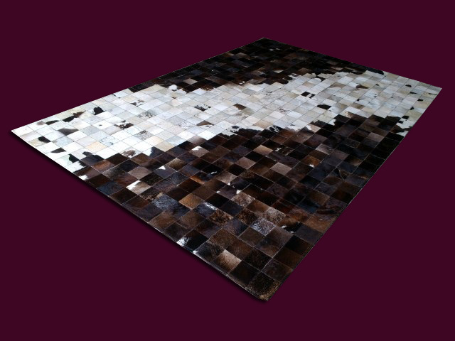 Fashionable art carpet 100% natural genuine cowhide leather fireproof carpetFashionable art carpet 100% natural genuine cowhide leather fireproof carpet