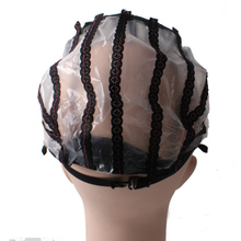 1Pc New Large Black Wig Making Cap With Lace Net