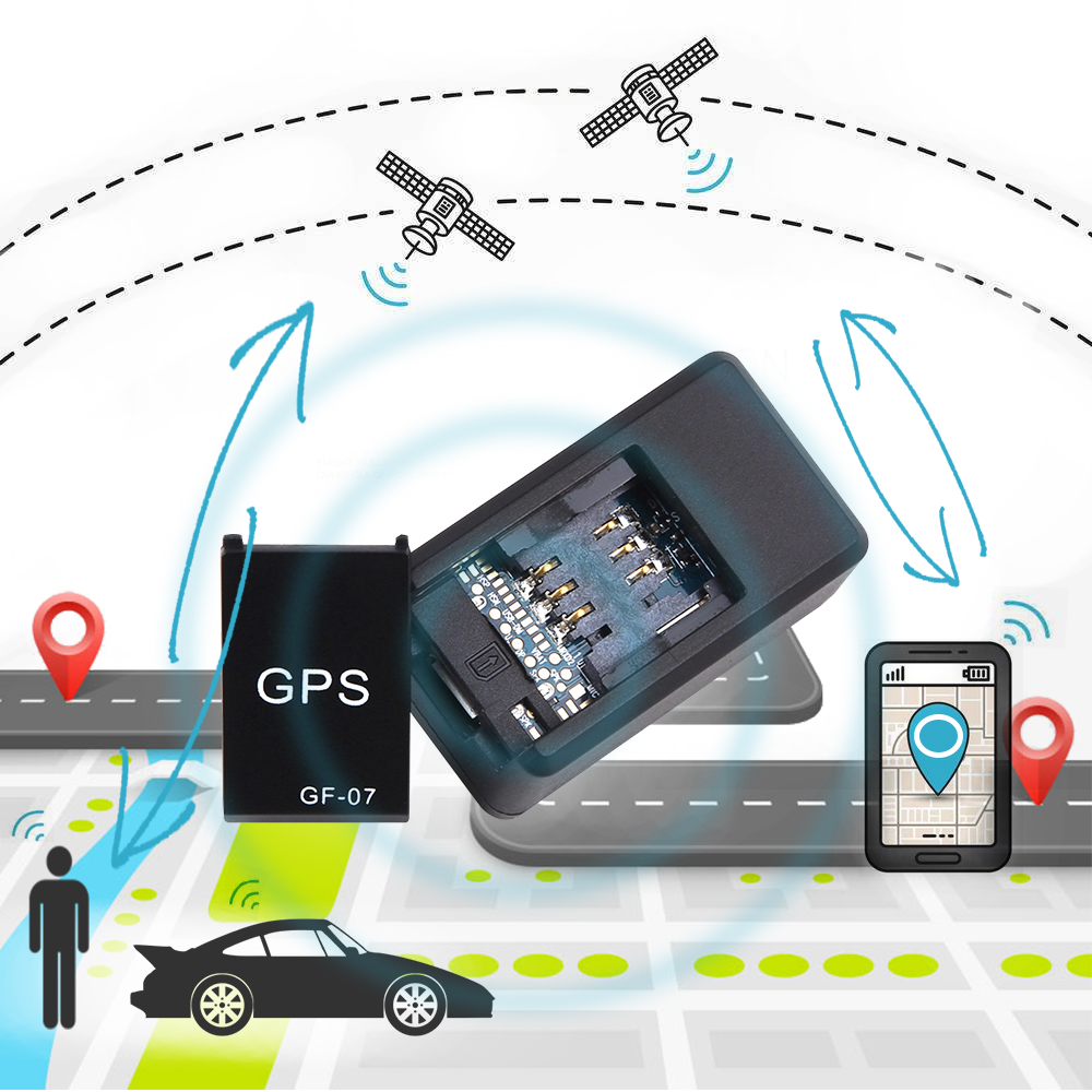 Gps Car Tracker >> Us 4 98 17 Off Gf07 Gsm Gprs Mini Car Gps Locator Tracker Car Tracker Anti Lost Recording Tracking Device Voice Control Can Record Sms Alarm In Gps