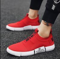 Sock Women Running Shoes 2018 New Sport Shoes Sneakers Woman Athletic Socks Breathable Walking Slip On Footwear Black Red