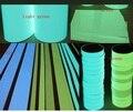 2 cm * 5 M Fita Auto-adesiva de Incandescência Luminosa Noite/Palco Marcante Escuro Segurança Aviso De Fita De Segurança