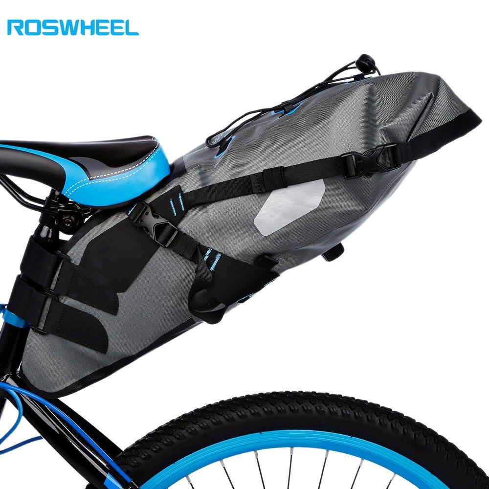 ROSWHEEL attaque 7L étanche vtt vélo sac de vélo sacoche de vélo selle siège arrière Pack transporteur