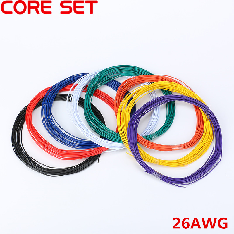 10 Meters UL 1007 Wire 26AWG 1.3mm PVC Wire Electronic Cable UL Certification Insulated LED Cable For DIY Connect 8 Color fisma certification page 8