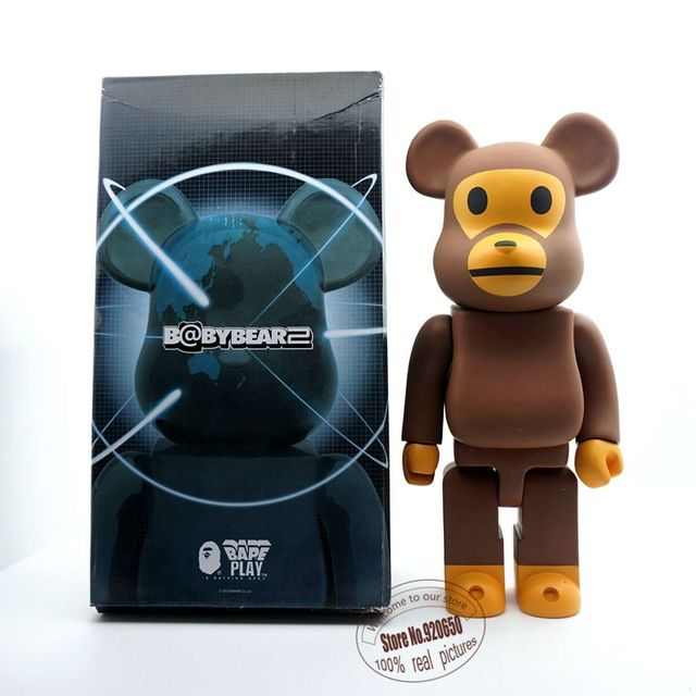 6cf0a83d 11inch Be@rbrick bape bearbrick medicom toy great gift for holiday ...