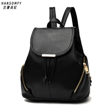 100% Genuine leather Women backpack 2019 New tide womens spring and summer new students fashion casual Korean bag