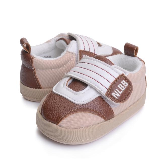 Bebé Botas Zapatos de Los Bebés Varones Primera Sapatos Caminantes Infantil Menino Niños De Goma Botas De Goma de la Tela Del Bebé Botines 503158