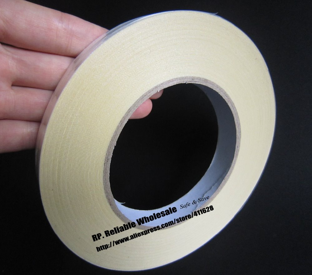 5mm~50mm *30M White Acetate Tape Insulate for Motor Transfer Coil Cable Insulating Wrap, High Temp. Resistant, One Side Sticky