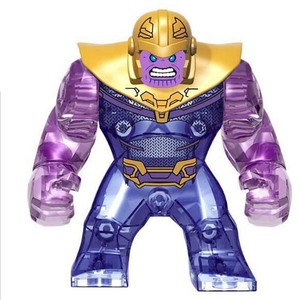 Image 5 - Thanos Building Blocks Energy Stones Gloves Marvel New Avengers 4 endgame Compatible with Super Hero Bricks Toys Building Blocks