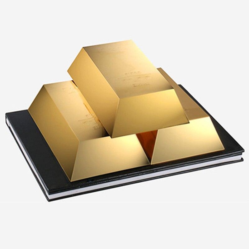 Trois or apparaissant de Magia livre ruée vers l'or tours de magie scène magique Gimmick accessoires mentalisme drôle classique jouets magicien