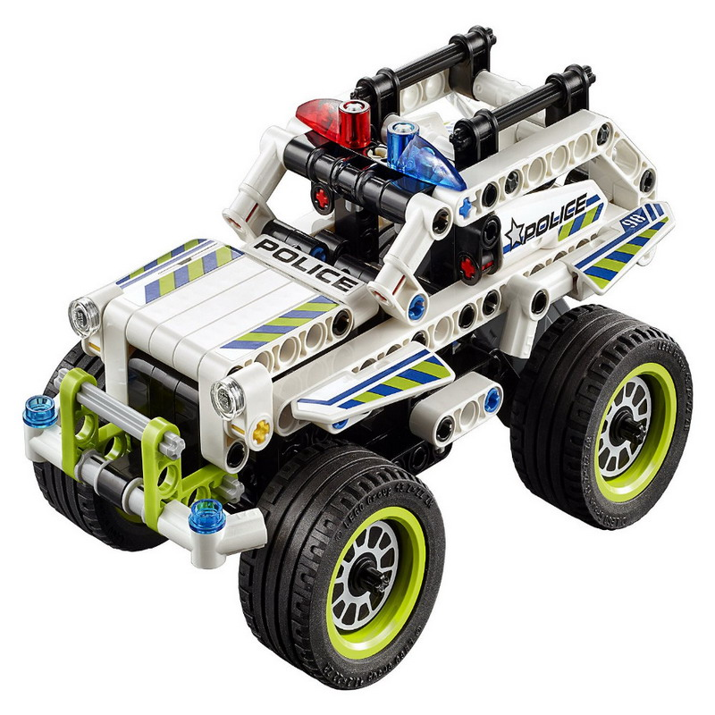DECOOL 3418 Technic Police Interceptor Figure Blocks Educational Construction Building Bricks Toys For Children Compatible Legoe decool 7108 batman chariot superheroes bat tank building block 506pcs diy educational toys for children compatible legoe