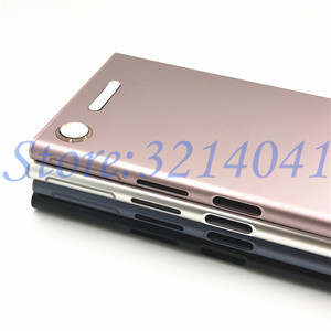 Image 5 - New Metal Battery Housing Door For Sony Xperia XZ1 G8341 G8342 Back Cover Case Battery Door Back Cover Housing Frame With Logo