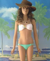 Hot sexy Femmes Push Up Plage Bikini Maillot de Bain À Armatures Soutien-Gorge Livraison gratuite sexy Orné de Bijoux maillots de bain 4F4246