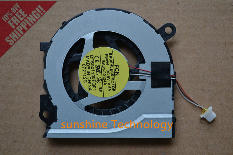 New laptop cpu cooling fan for Samsung NP 530U4C 535U4C 530U4B 520U4C NP520U4C DELTA KSB05105HA BK1X BA31-00124B