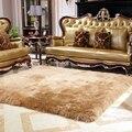 Alfombra de lana pura alfombra mantas de cama alfombra de piel de oveja de piel de una pieza cojín del sofá manta de Lana alfombra estera Felpudo sala de estar mesa de Té