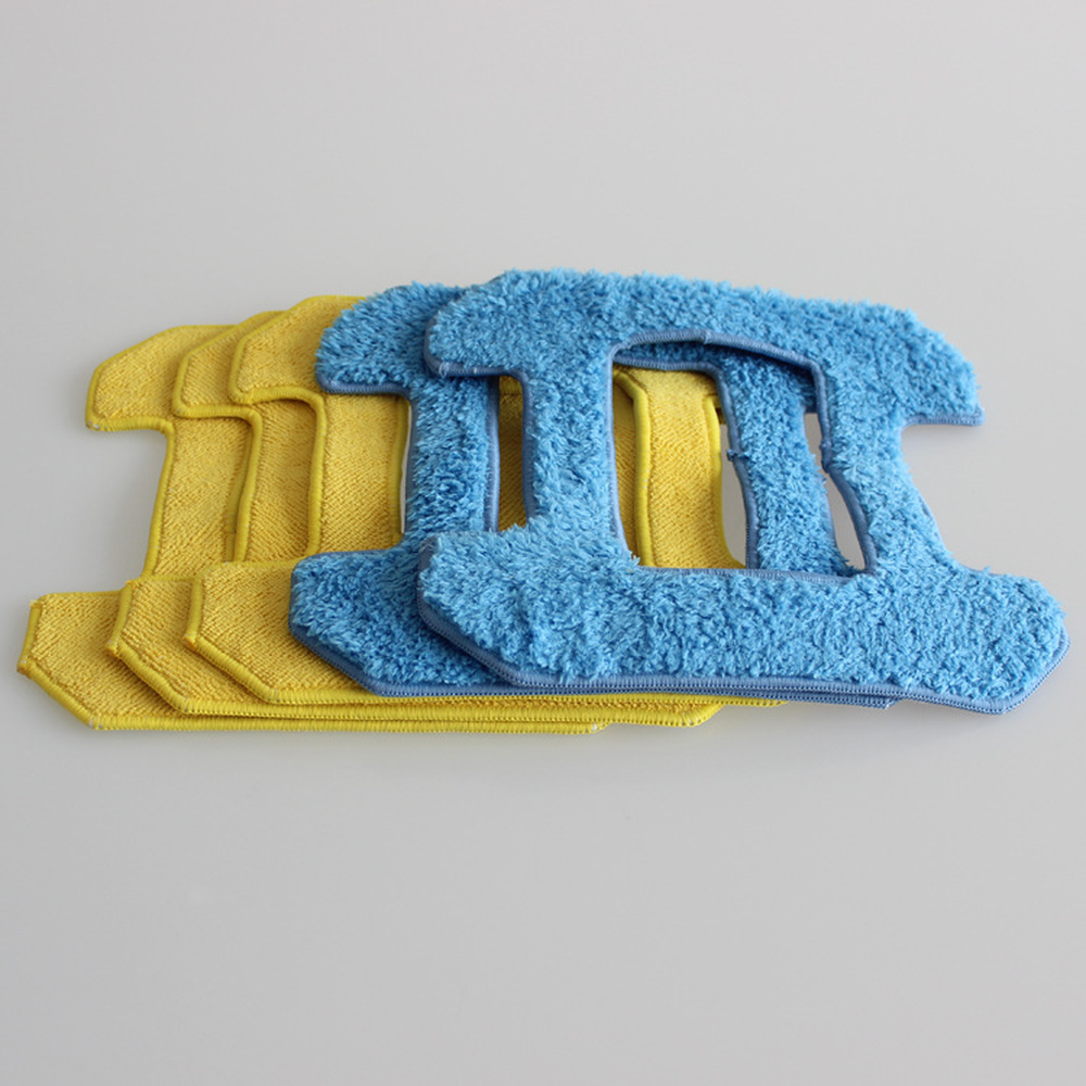 For X6 6pcs//pack Mopping Cloths for Liectroux Window Cleaning Robot X6