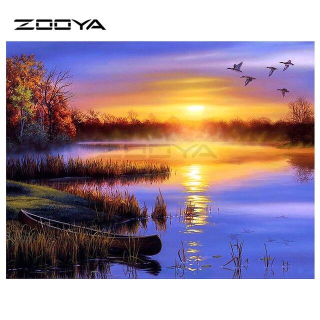 Us 405 42 Offaliexpresscom Zooya Official Store üzerinde Güvenilir Elmas Boyama çapraz Dikiş Tedarikçilerden Zooya 5d Diy Elmas Nakış